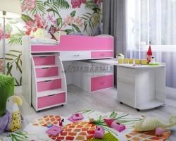 Кровать чердак Малыш 6