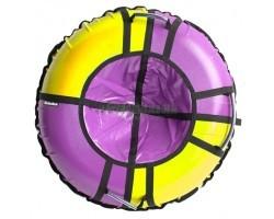 Тюбинг Hubster Sport Pro фиолетовый-желтый