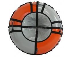 Тюбинг Hubster Sport Pro серый-оранжевый