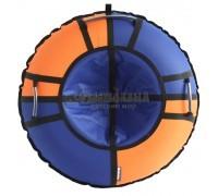 Тюбинг Hubster Хайп синий-оранжевый