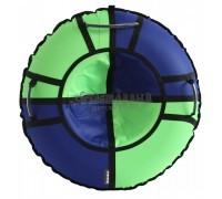 Тюбинг Hubster Хайп синий-салатовый