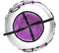 Тюбинг Hubster Ринг Plus Flash серый-фиолетовый